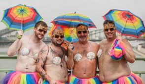 pic - gay pride people