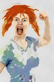 pic - angry woman